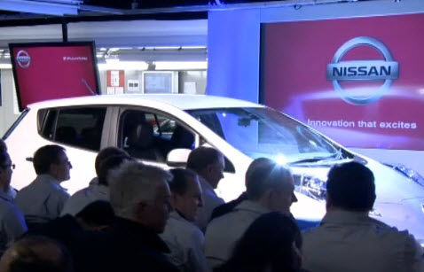 UK launches Nissan EV - www.yourhealthyplanet.com